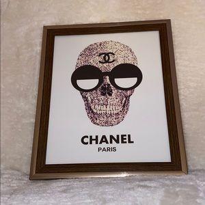 Chanel skull picture frame 💀